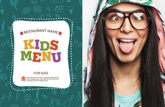 Você prefere pedir comidas do menu kids ou do menu adulto?