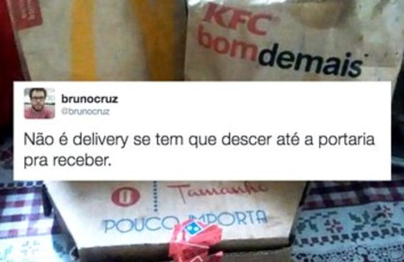 17 realidades da vida do jovem adulto que ama pedir delivery