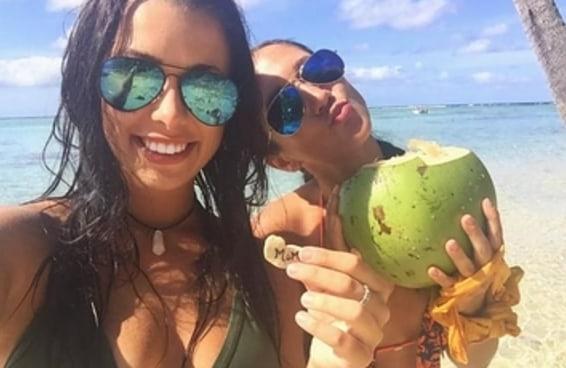 Duas garotas que ostentavam suas viagens no Instagram foram presas com R$ 75 milhões em cocaína