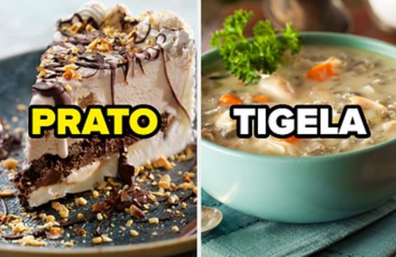 Diga se come essas comidas em prato ou tigela e te diremos sua idade psicológica