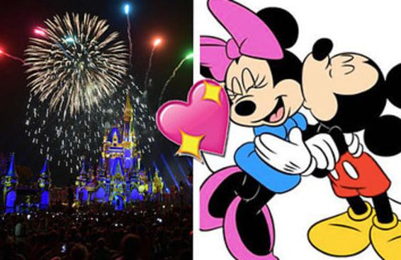 Planeje uma ida à Disney e revelaremos as iniciais da sua alma gêmea