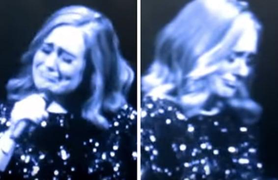 Adele chorou ao dedicar seu show às vítimas do ataque em Orlando