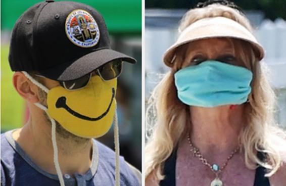 Aqui estão 18 famosos usando máscaras — você consegue adivinhar quem são eles?