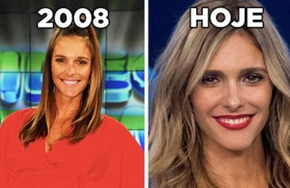 10 celebridades brasileiras que não mudaram quase nada desde 2008