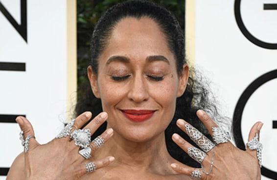 Tracee Ellis Ross é a primeira mulher negra a vencer em sua categoria no Globo de Ouro em 35 anos