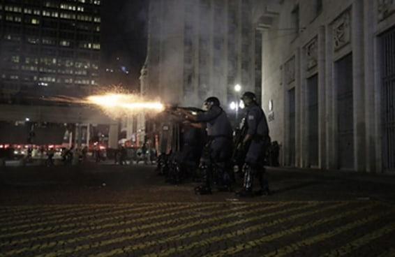 Como foi a manifestação contra o aumento da tarifa nesta sexta em SP