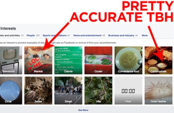 Veja quem o Facebook pensa que você é de verdade