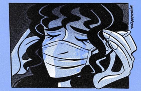 Essa artista brasileira criou uma história em quadrinhos emocionante sobre luto em tempos de coronavírus