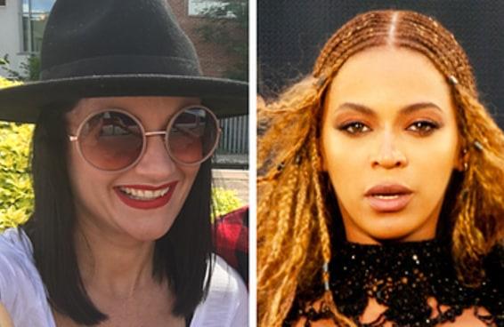 Uma mulher estava a caminho do show da Beyoncé e percebeu que seus ingressos eram para a noite anterior
