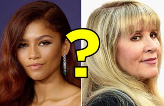 Seu conhecimento sobre celebridades atravessa gerações?