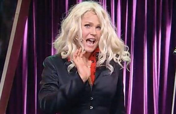 """Veja Xuxa imitando a Angélica e a Eliana no """"Programa do Porchat"""""""