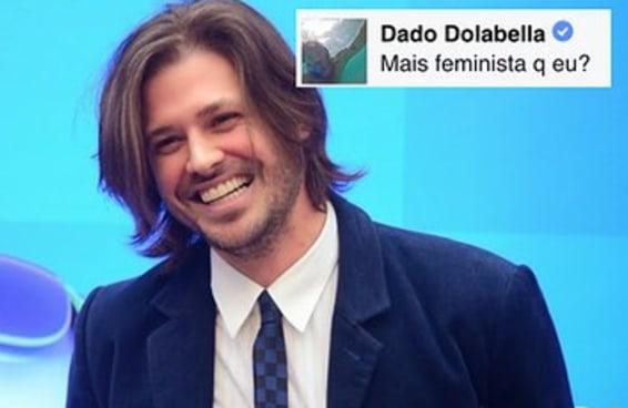 Dado Dolabella diz que é feminista em discussão no Facebook
