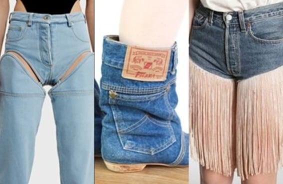 23 estilistas que deveriam pedir perdão pelo pecado que fizeram com o jeans