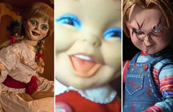 Esta boneca é mais assustadora que o Chucky e a Annabelle juntos