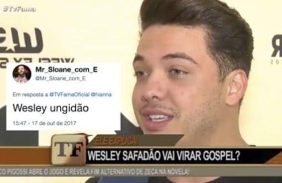 O Wesley Safadão virou evangélico e o pessoal tem sugestões de novos nomes pra ele