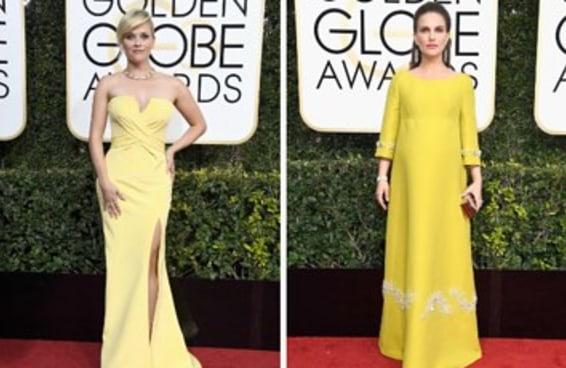 Quais foram seus vestidos favoritos do Globo de Ouro?