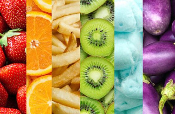 Coma 7 comidas coloridas e descubra sua personalidade verdadeira