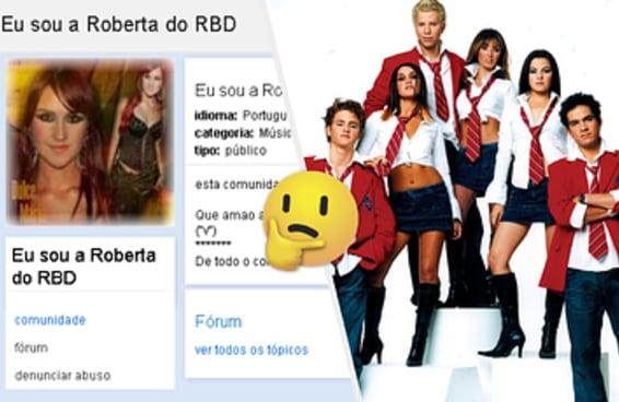 Responda essas perguntas e te diremos qual fake do RBD no orkut é você