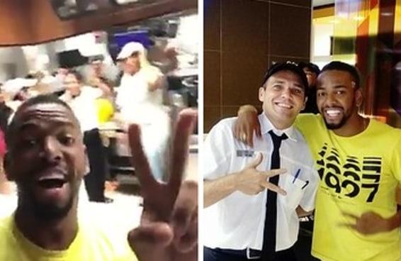O Nego do Borel foi a um McDonald's de madrugada e improvisou uma rima