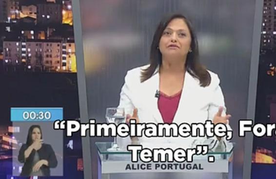 O começo do debate entre candidatos a prefeito de Salvador foi bem doido