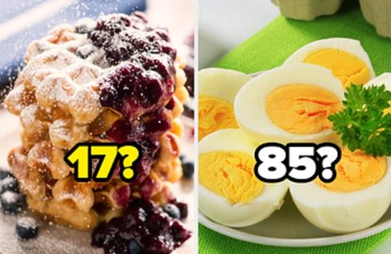 Monte um café da manhã e diremos a idade da sua alma