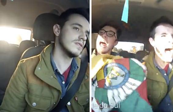 Como gaúchos cantam o hino nacional e o hino rio-grandense