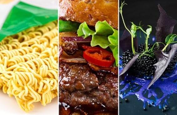Reaja a estas comidas e diremos quem você é à mesa