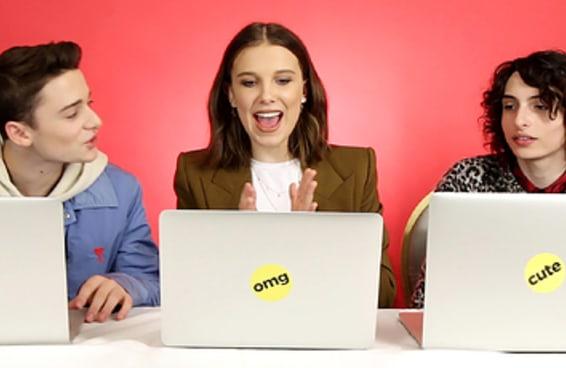 """O elenco de """"Stranger Things"""" fez nosso teste """"Qual personagem de 'Stranger Things' você é?"""" e agora você também pode fazer"""