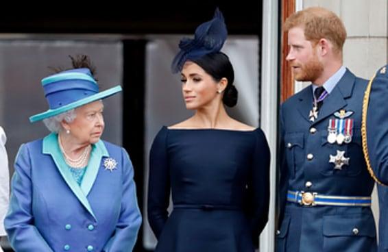 Príncipe Harry e Meghan Markle oficialmente se separaram da família real