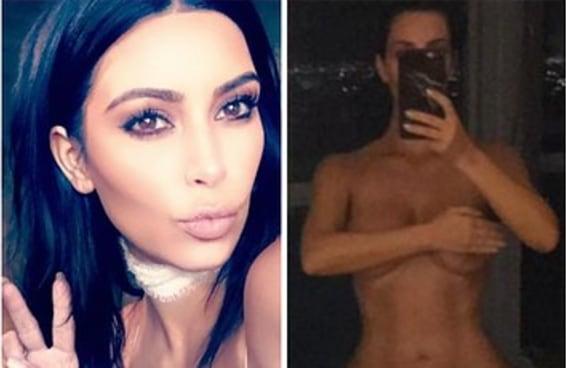 Kim Kardashian mandou nudes pelo Snapchat porque, sim, ela não está nem aí para invejosos