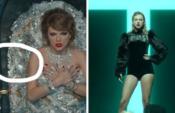 Aqui estão todos os detalhes que talvez você tenha perdido no novo clipe da Taylor Swift