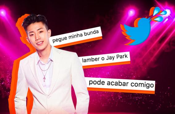 Jay Park lê tuítes sedentos