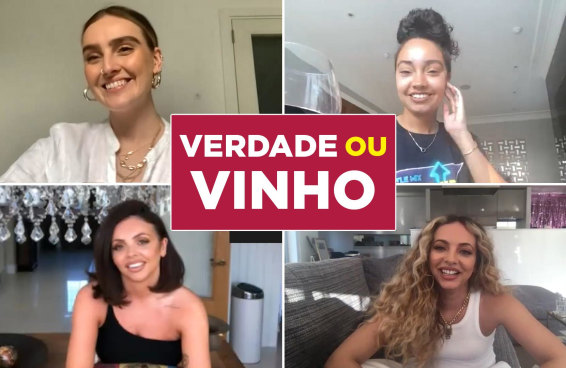 """Little Mix joga """"Verdade ou Vinho"""""""