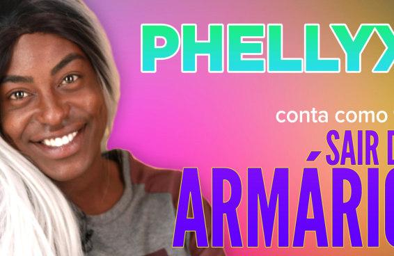 Phellyx conta como foi sair do armário