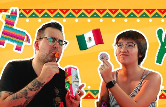Brasileiros provam doces mexicanos pela primeira vez