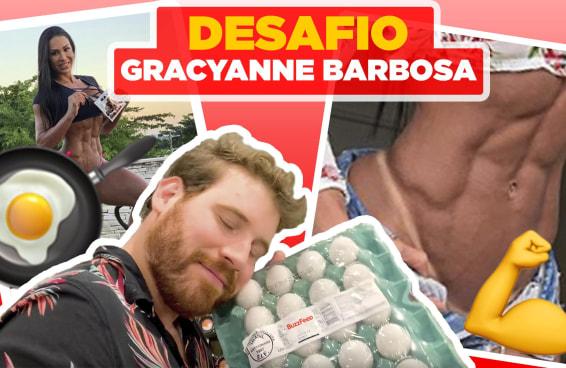 DESAFIO: Tentamos fazer a dieta da Gracyanne Barbosa por um dia