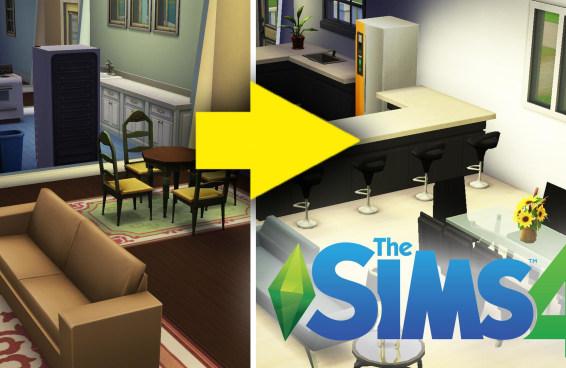 Designer de interiores decora casa no The Sims 4