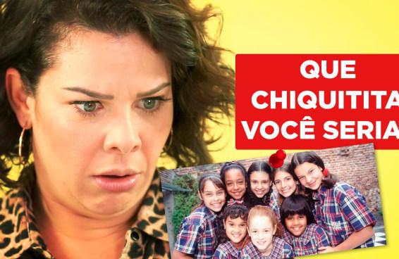 Fernanda Souza faz o teste Que Chiquitita Você Seria?