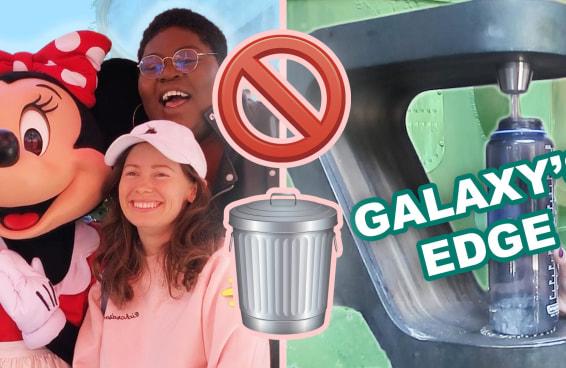 DESAFIO: Tentei ir para a Disneylândia sem gerar lixo