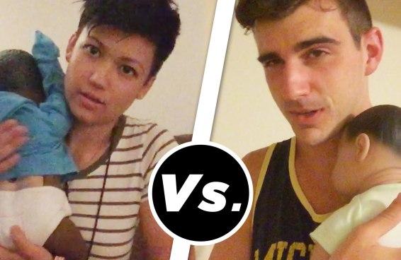 Gays vs. lésbicas: quem cria melhor um bebê robô?
