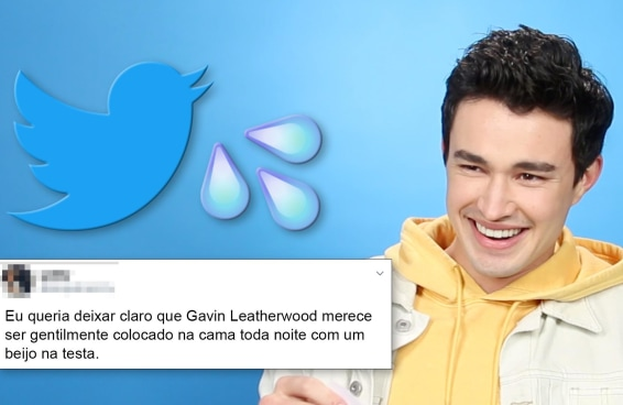 Gavin Leatherwood lê tuítes sedentos