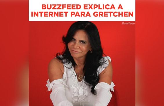 BuzzFeed explica a internet para a Gretchen