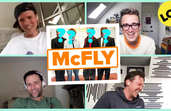 McFly reage a looks clássicos