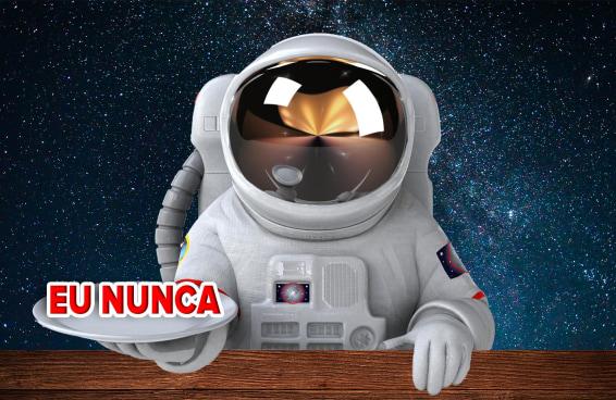 "Astronauta joga ""Eu Nunca"""