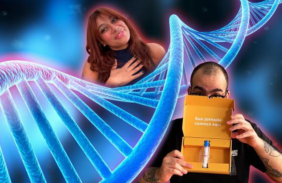 Fizemos um exame de DNA