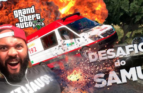 "Fizemos o ""Desafio do Samu"" no GTA 5"