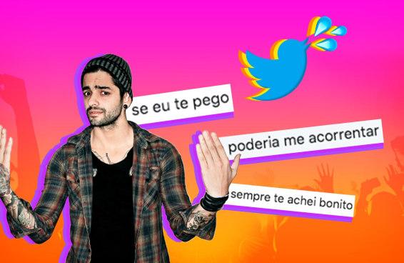 Lucas Silveira lê tuítes sedentos