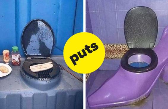 Os 16 piores banheiros que você já viu na vida