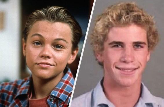 24 celebridades fingindo ser adolescentes comparadas com como elas realmente eram na adolescência