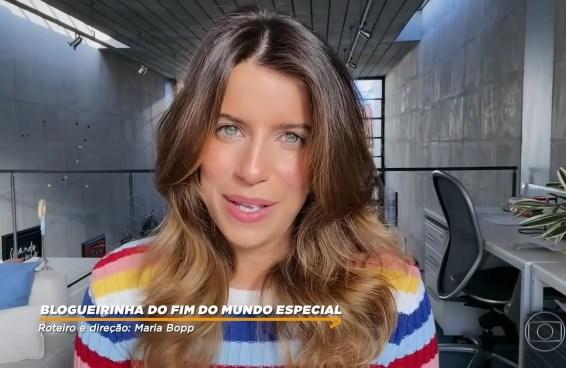 Maria Bopp, a Blogueirinha, viverá influenciadora serial killer em série